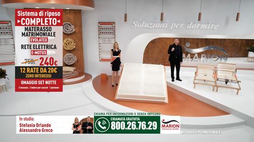 OFFERTA MATERASSO – Sconto Anniversario Marion SITO UFFICIALE